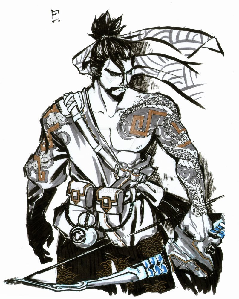 Hanzo Wallpaper: Hanzo By Kitty9o On DeviantArt