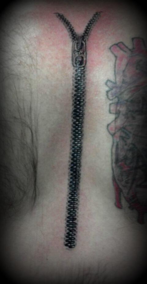 Zipper Over An Open Heart Surgery Scar By Jamminbam On Deviantart