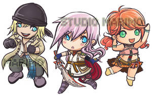 Final Fantasy 13 by studiomarimo