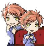 Ouran - Hikaru and Kaoru