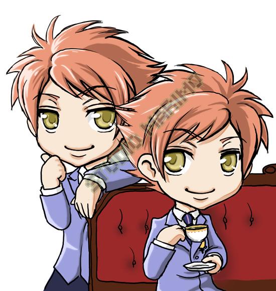 Ouran - Hikaru and Kaoru by studiomarimo