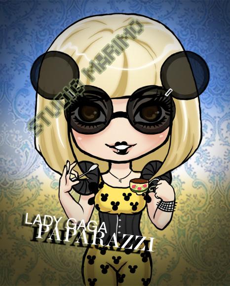 Lady Gaga - Paparazzi by studiomarimo