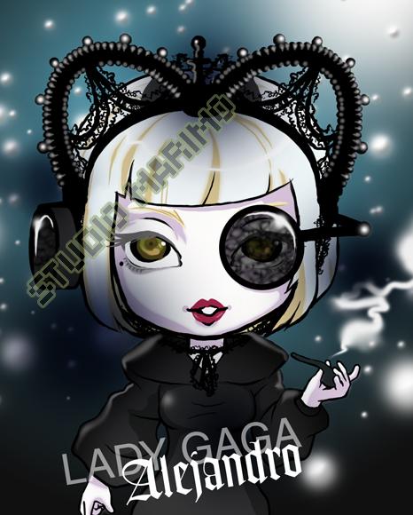 Lady Gaga - Alejandro by studiomarimo