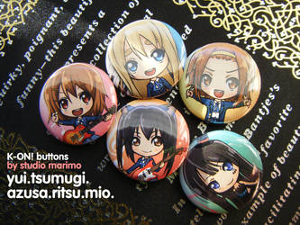 K-ON! Buttons