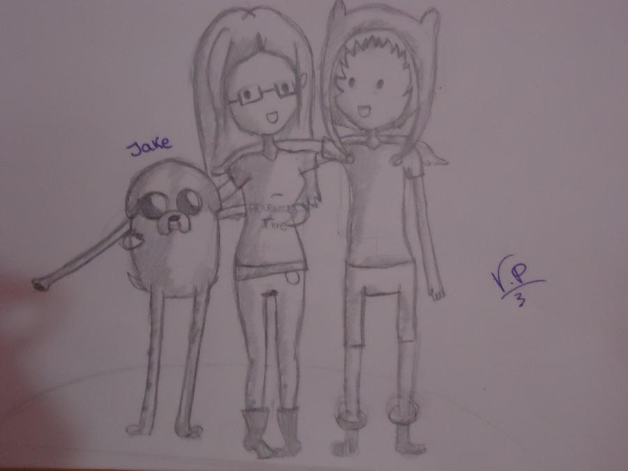 Jake, Finn y yo by Aelita222
