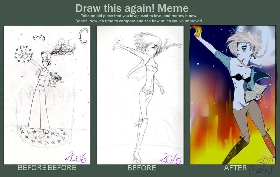 Before and After Meme by ClassyNaru