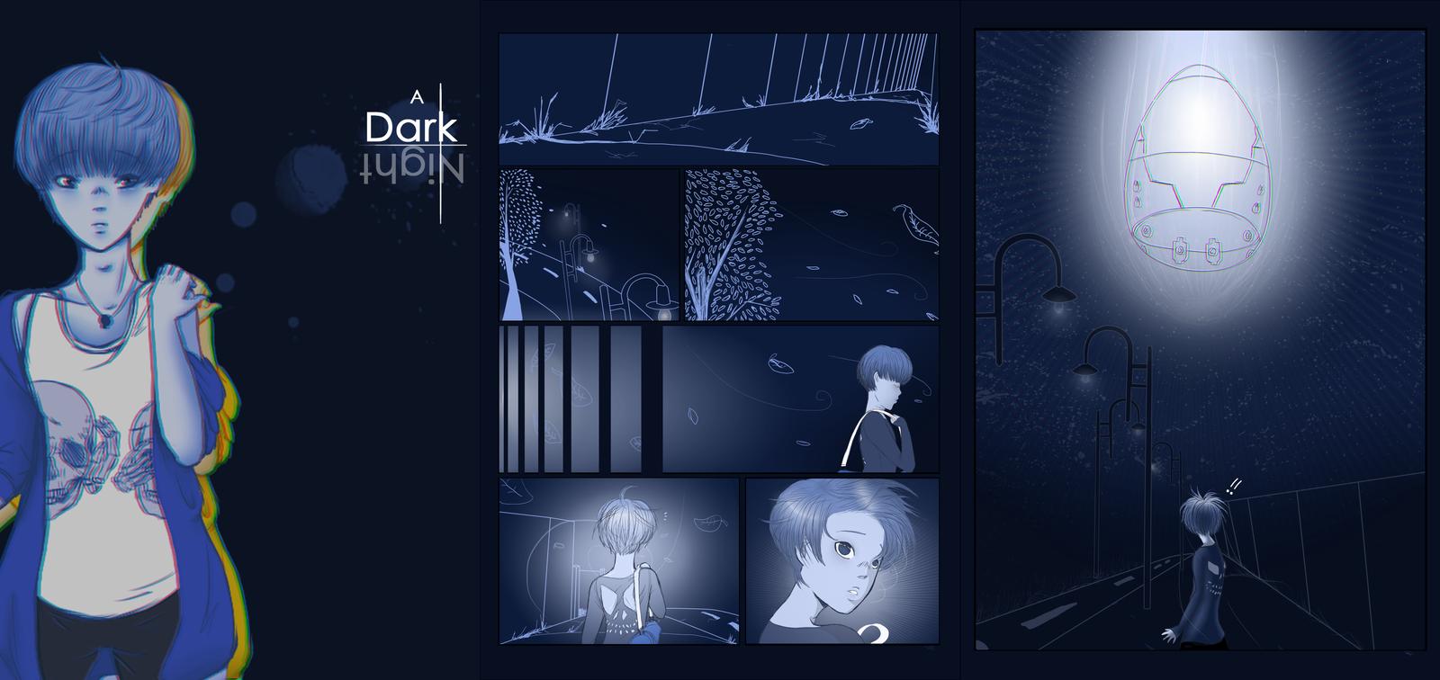 A Dark Night by ClassyNaru