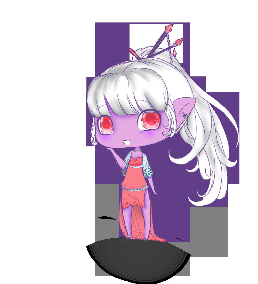 Commission: Eda by ClassyNaru