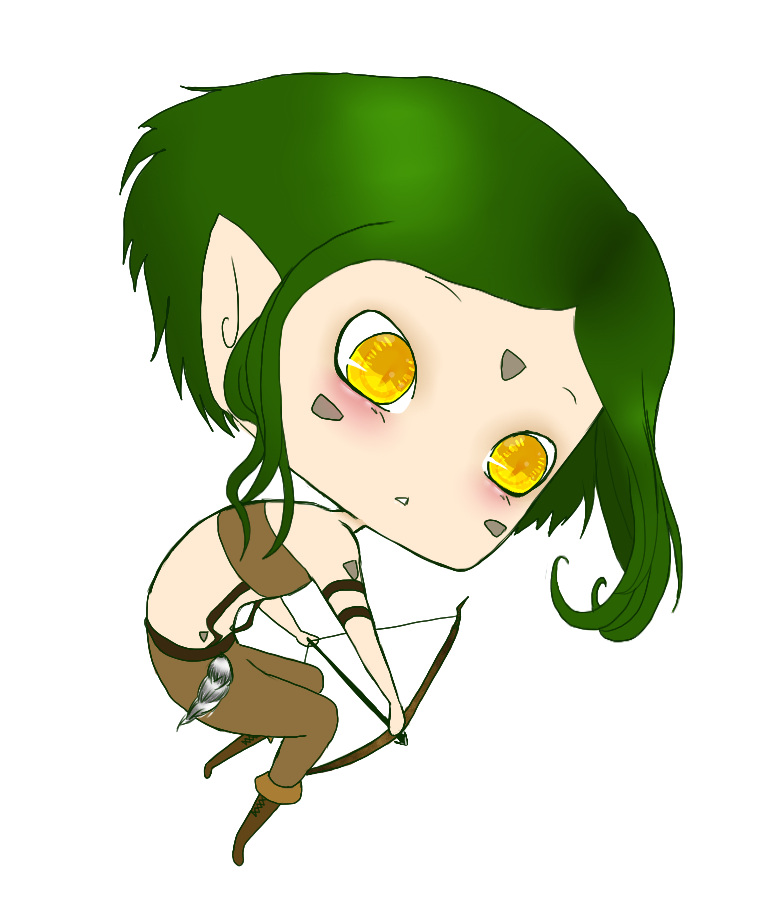 Commission: Aaia by ClassyNaru