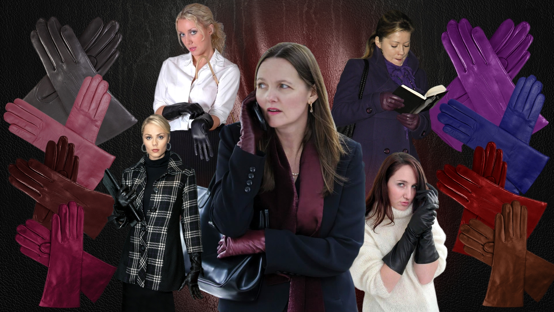 low price sale best wholesaler great prices Ladies in Leather Gloves Wallpaper by LordRadim on DeviantArt