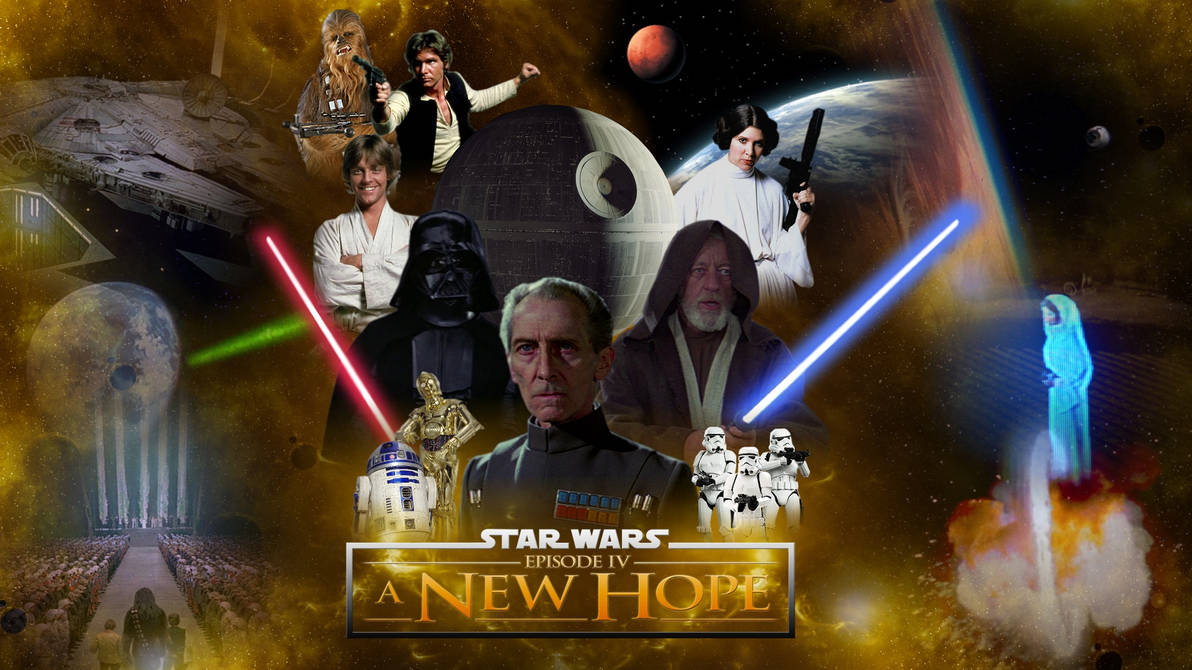Image result for star wars a new hope wallpaper
