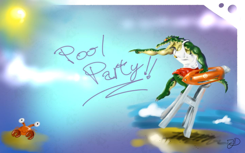 Pool Party Renekton by DinoJ-13 on DeviantArt