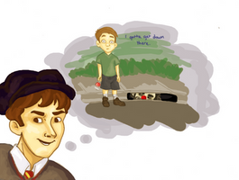 Flitwick's Little Brother by Nar-Amarth