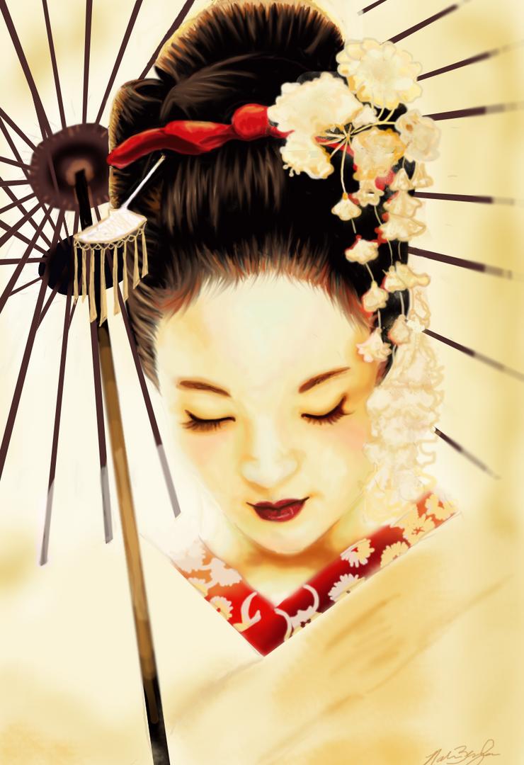 Geisha by Nar-Amarth on DeviantArt