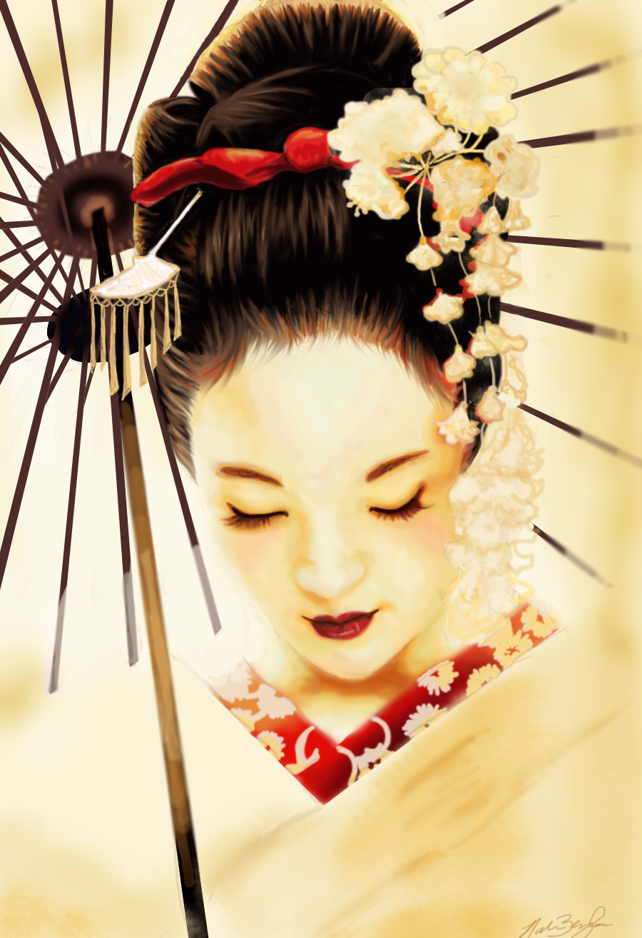 Geisha by Nar-Amarth