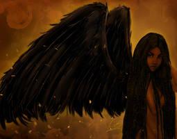 Dark Angel by KiraTheArtist