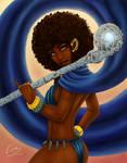 Elf Priestess Aziza