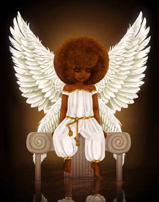 Lil' Angel by KiraTheArtist