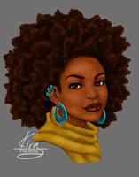 portrait by KiraTheArtist