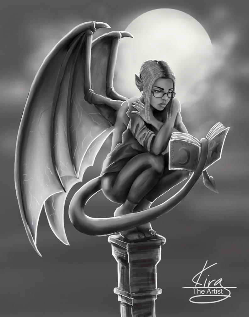 Winged Teri by KiraTheArtist