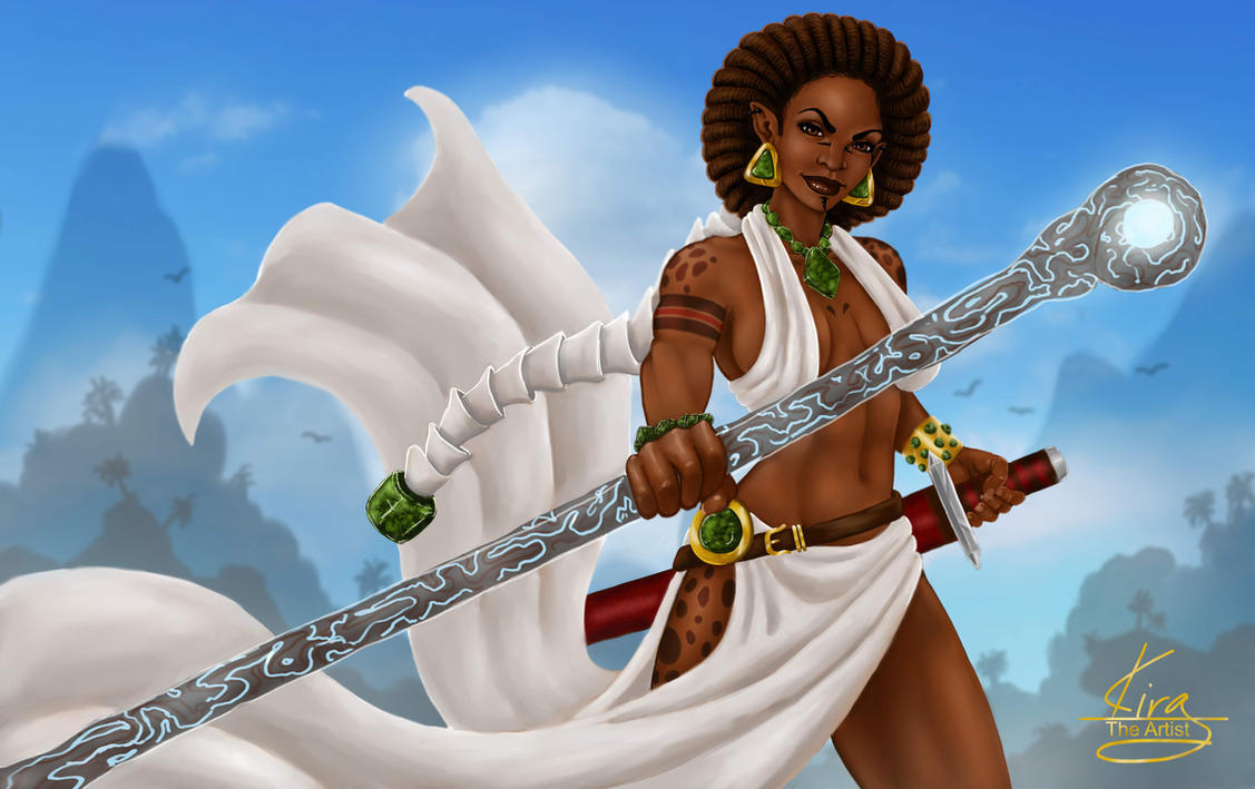 Nandi  The nKu Priestess by KiraTheArtist