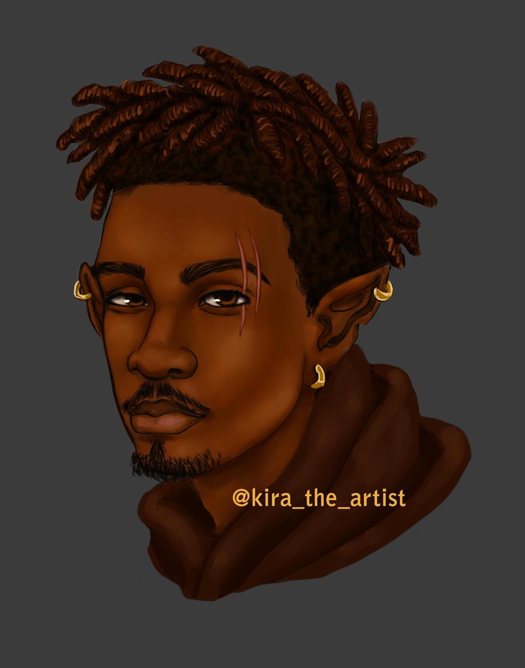 Black Elf Concept by KiraTheArtist