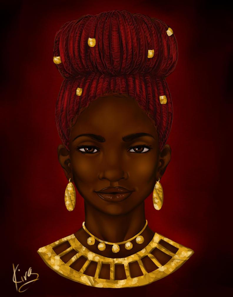 Crimson Crown by KiraTheArtist