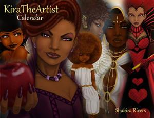 Kira The Artist Calendar 2018