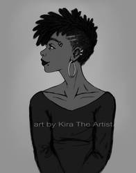 Leah New Look by KiraTheArtist