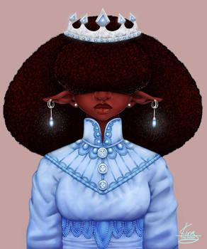 Black Elf princess
