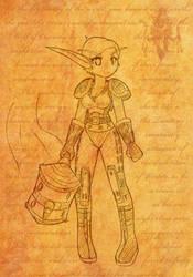 Warcraft: Nekoni vers 2 by freelancemanga