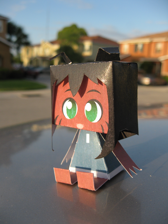 Kimi Papercraft by freelancemanga