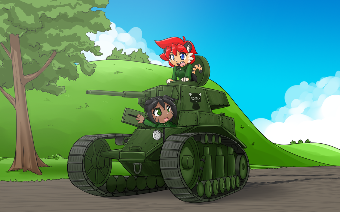 MS-1 NekoTank by freelancemanga