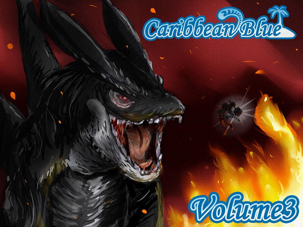 Caribbean Blue Vol 3 Kickstarter by freelancemanga