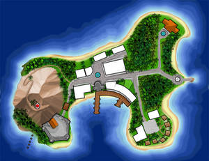 C.B Island Map