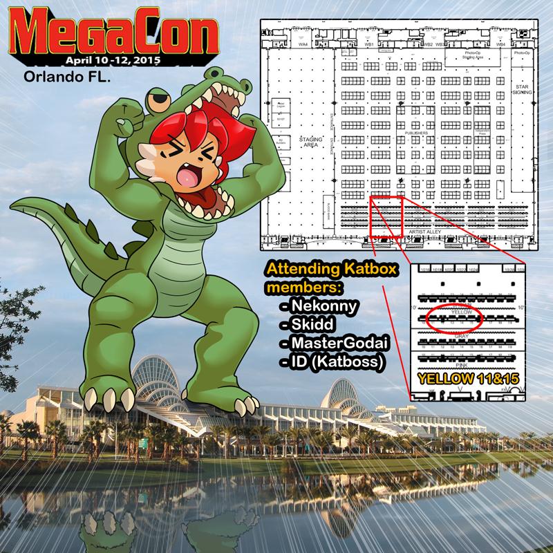 TIna at Megacon 2015! by freelancemanga