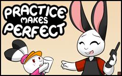 New comic! Practice makes Perfect by freelancemanga