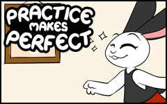 Practice makes Perfect #20 by freelancemanga