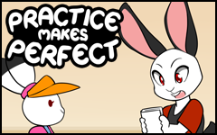 Practice makes Perfect #31 by freelancemanga