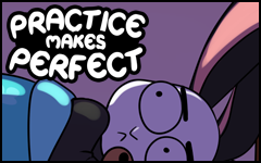 Practice makes Perfect #33 by freelancemanga