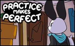 Practice makes Perfect #34 by freelancemanga