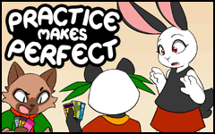 Practice makes Perfect #38 by freelancemanga