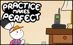 Practice makes Perfect #40 by freelancemanga