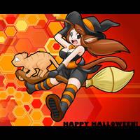 Art: Yuki Halloween by freelancemanga