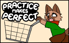 Practice makes Perfect #45 by freelancemanga