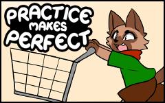 Practice makes Perfect #45 by freelancemanga