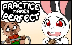 Practice makes Perfect #46 by freelancemanga
