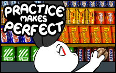 Practice makes Perfect #47 by freelancemanga