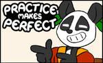 Practice makes Perfect #51 by freelancemanga