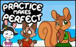 Practice makes Perfect #55 by freelancemanga